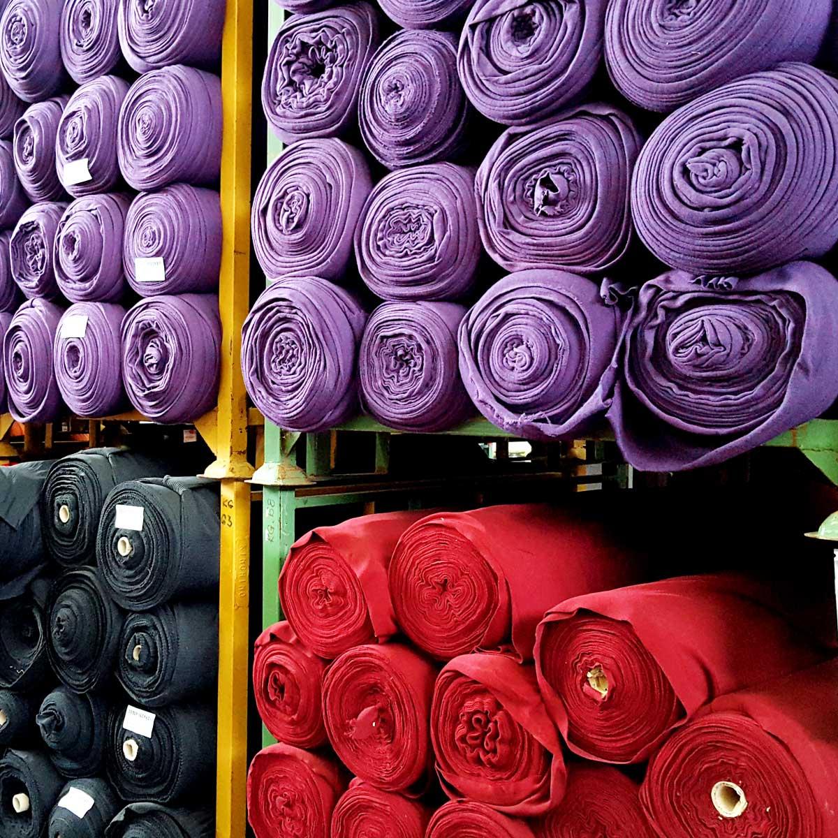 warehouses stock fabrics