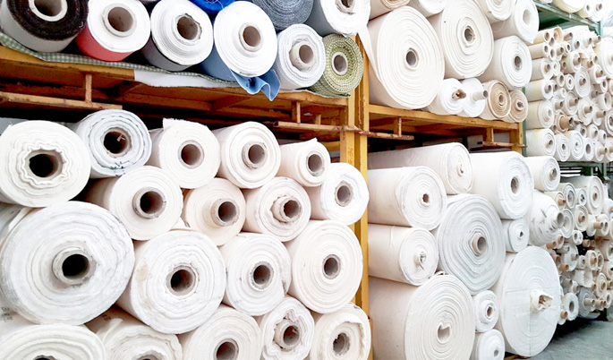 Raw cotton fabrics
