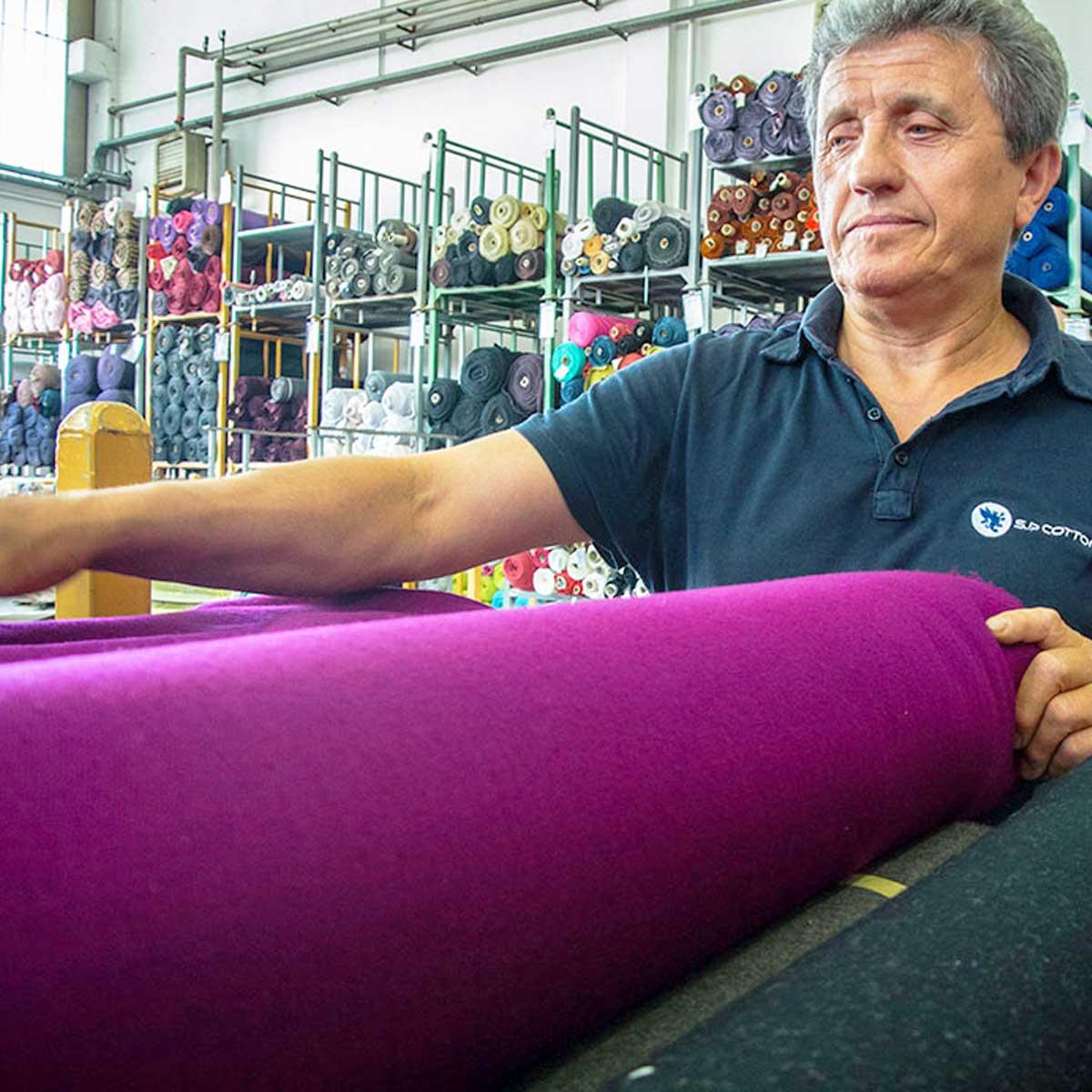 SP Cotton tessuti stock in pronta consegna