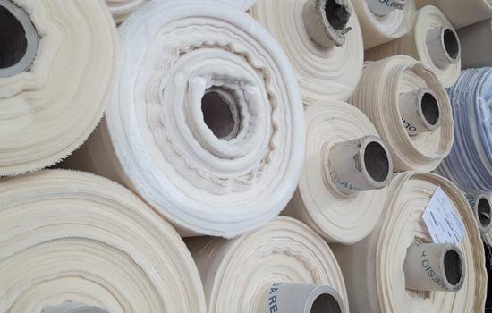 vente de stock de tissus au poids