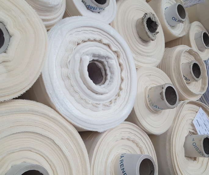 Raw cotton fabrics