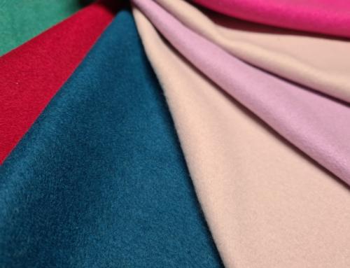 Tessuto misto lana tinta unita
